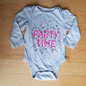Baby Gap Party Time Onesie